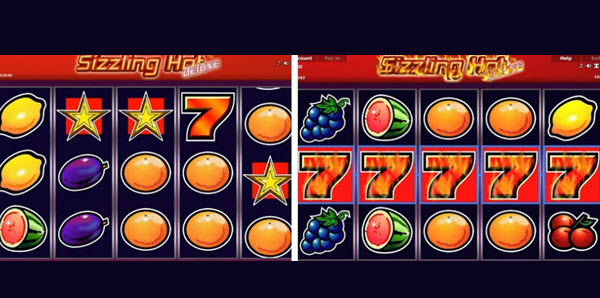 Features ofSizzling Hot Deluxe slot game