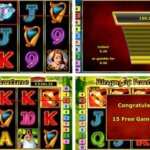 Rings of Fortune slot game comes with three bonus features which include the following.