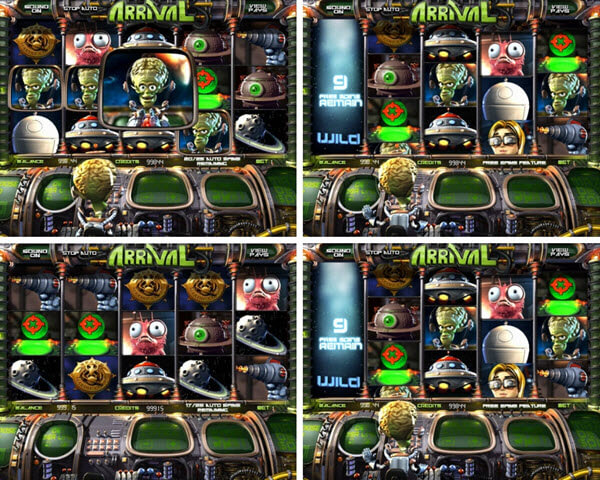 features of arrival slot game