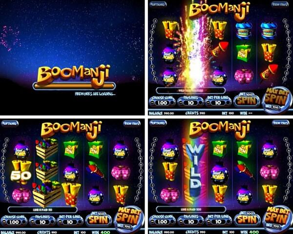 Boomanji video slot game - Fireworks Slot Game Free