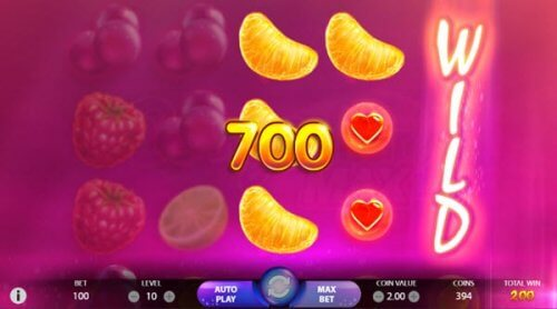 Features of Berryburst MAX slot game