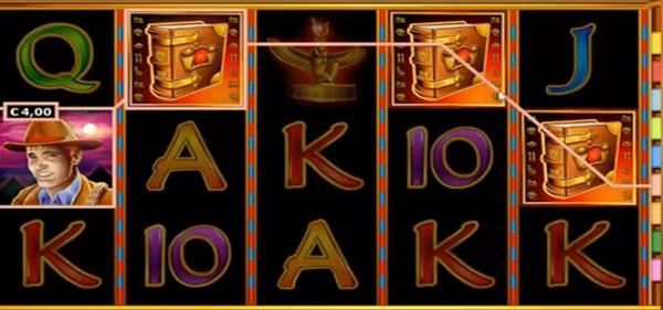 Features of Book of Ra slot game