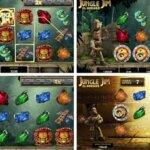 Bonus Rounds of Jungle Jim El Dorado slot game