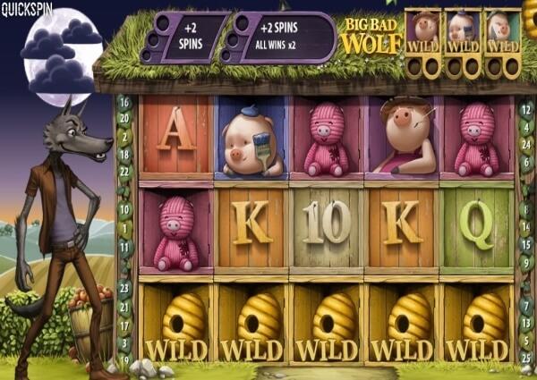 Big Bad Wolf slot game screenshot