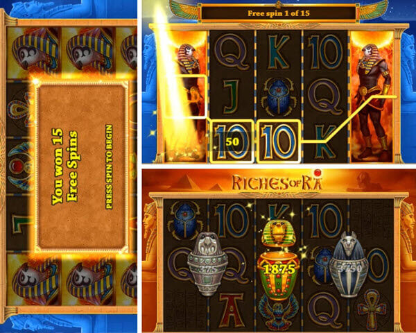 Features of Riches of Ra slot