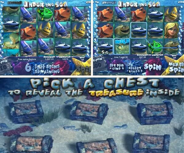 Under the Sea Slot Review - Betsoft slots