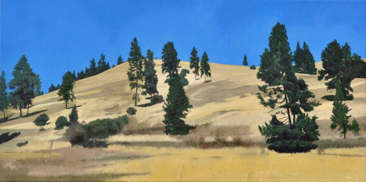 Solid Gold, oil on canvas, 20x40