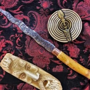 Athames and Ritual Blades Hand-forged for Wicca and Witchcraft