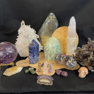 Crystals, Stones, and Accessories
