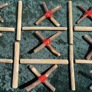 Rowan Crosses and Elder Straws