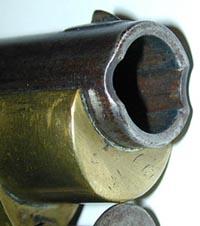 Muzzle of Brunswick rifle