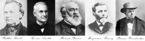 """The """"founding fathers"""" of the Winchester repeater"""