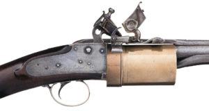 Collier Revolving Flintlock Musket