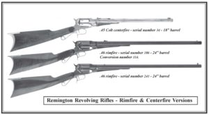 Remington Revolving Rifle ads