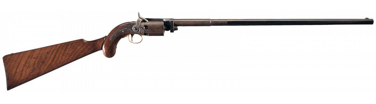 Wesson & Levitt Revolving Rifle.