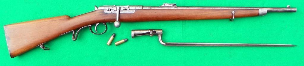 Gendarmerie Repetier Gewehr System Früwirth M1872