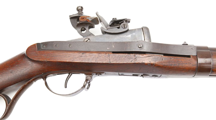 Hall Model 1819 Breech-Loading Flintlock