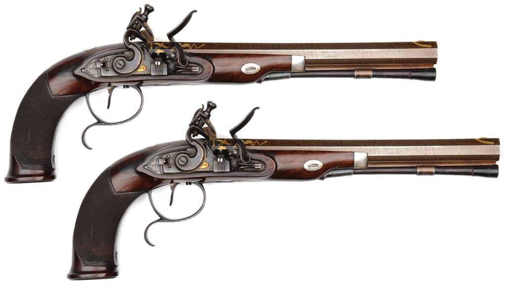 Renwick Dueling Pistols.