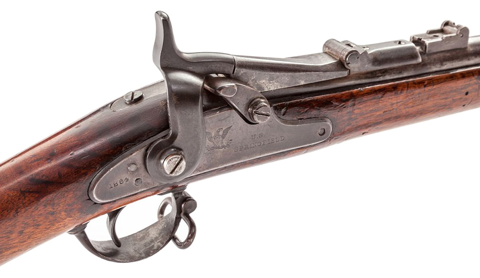 """Model 1866 """"Trapdoor"""" Springfield"""