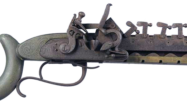 Jennings Repeating Flintlock