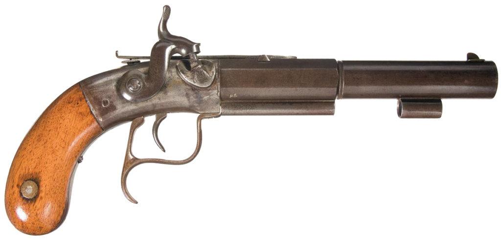 Allen & Thurber Sidehammer Pistol