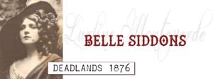 Belle Siddons Banner
