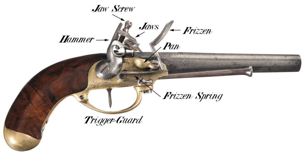 Modèle 1777 Charleville Pistol