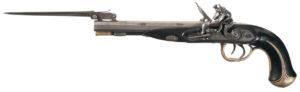 Wogdon & Company Double-Barrel Flintlock Pistol