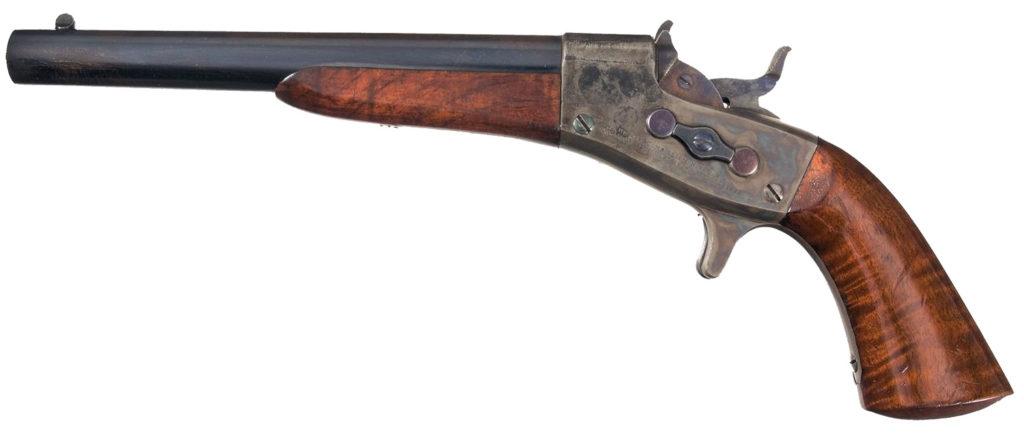 Remington Model 1865 Navy Rolling Block Pistol