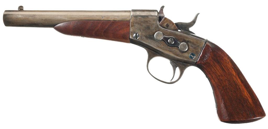 Remington Model 1867 Navy Rolling Block Pistol