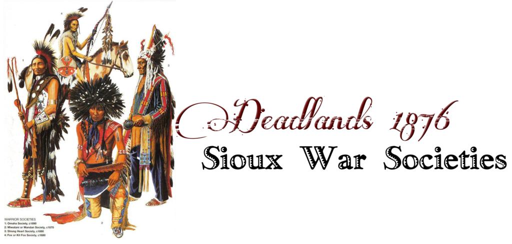 Sioux War Societies