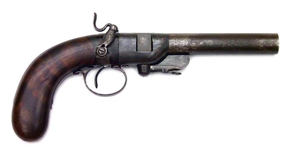 Owl-Cocked Breech-Loading Pistol