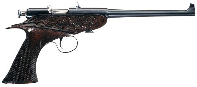 Winchester Model 1902 Bolt-Action Pistol