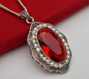 Belle Siddons' Ruby