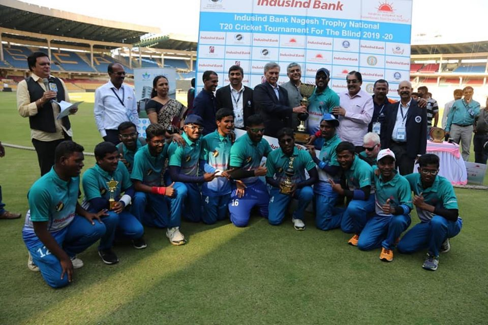 Andhra Pradesh crowned champions of the second edition of IndusInd Bank Nagesh Trophy 2019-20