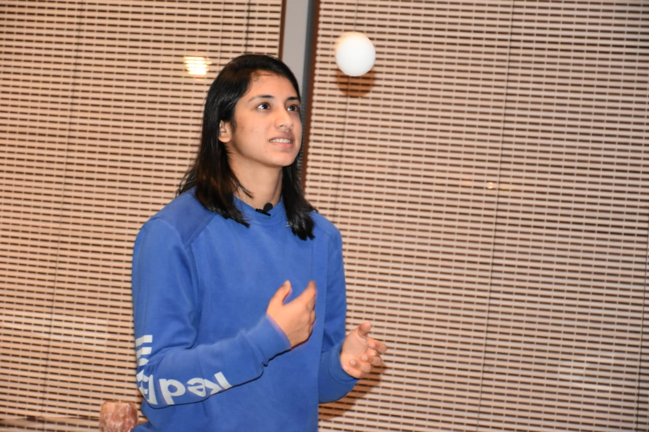 Smriti Mandhana roped in as the Brand Ambassador for first ever Women's National T20 tournament for the Blind