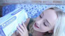 ASMR Mini Haul (Tapping, Plastic Gloves) #ad | GwenGwiz