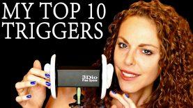 1 Hour Top 10 ASMR Triggers For Sleep & Relaxation Binaural Ear to Ear