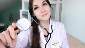 ? АСМР ролевая игра ВРАЧ ? Медицинский осмотр   ? ASMR Role Play Doctor   Medical Examination ?