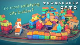 ASMR | Let's build a tiny, lovely town together 🏘️ Binaural Townscaper ASMR