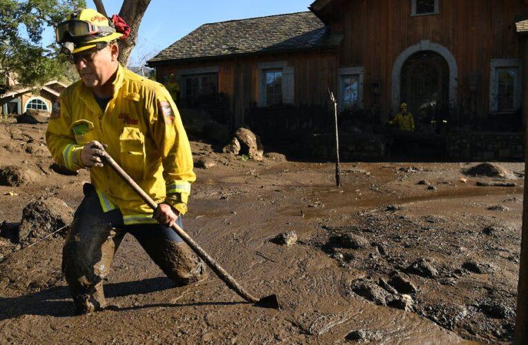 Evacuaciones ordenadas mientras una poderosa tormenta se dirige a las cicatrices de quemaduras de incendios forestales de California, lo que aumenta el riesgo de deslizamientos de tierra: así se ven los desastres climáticos en cascada