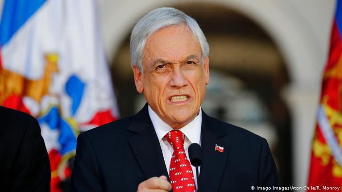 Chile: Sebastián Piñera ordena la militarización en el sur de Chile por conflicto con indígenas