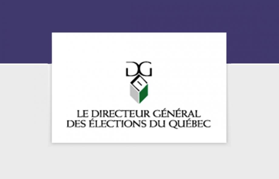 Directeur général des élections du Québec