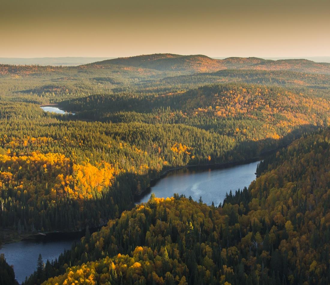 Parc national d'Aiguebelle, automne 2014 par Mathieu Dupuis
