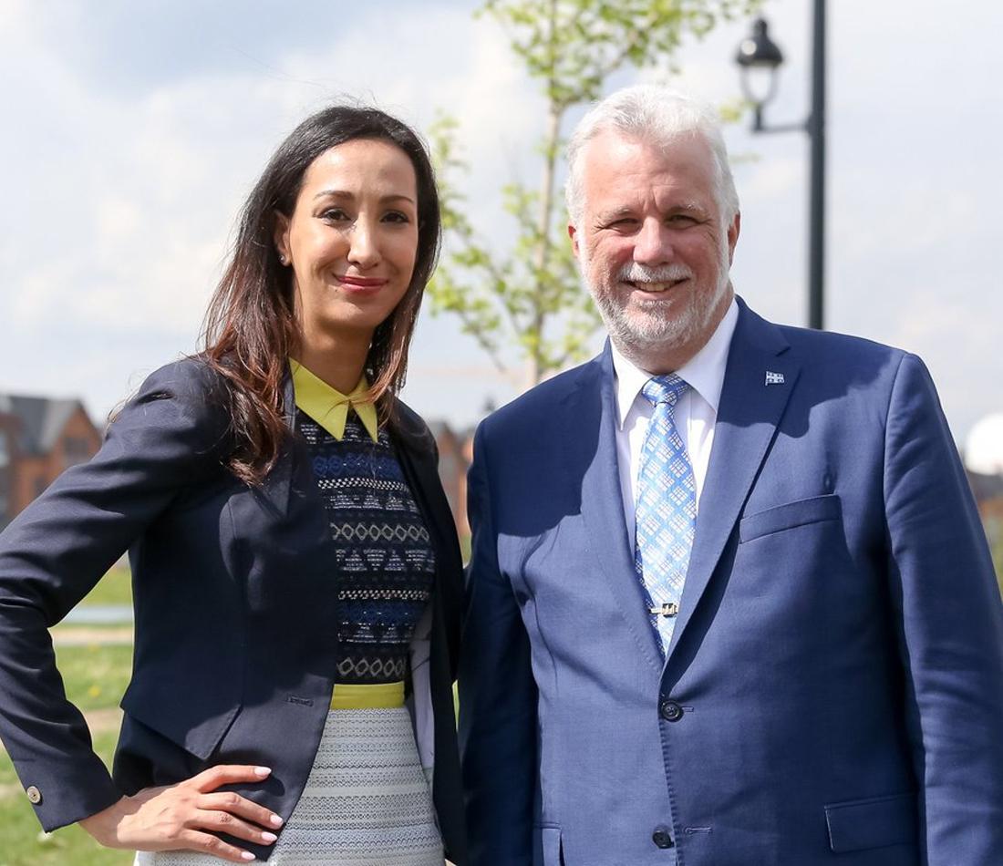 La fiscaliste de renom Marwah Rizqy, candidate libérale dans la circonscription de Saint-Laurent