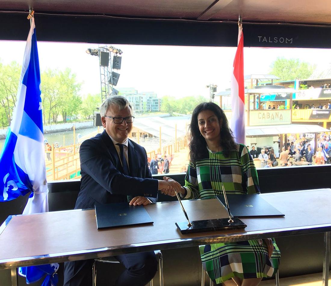 Économie sociale et solidaire - Signature d'une déclaration de collaboration entre le Québec et le Grand-Duché de Luxembourg