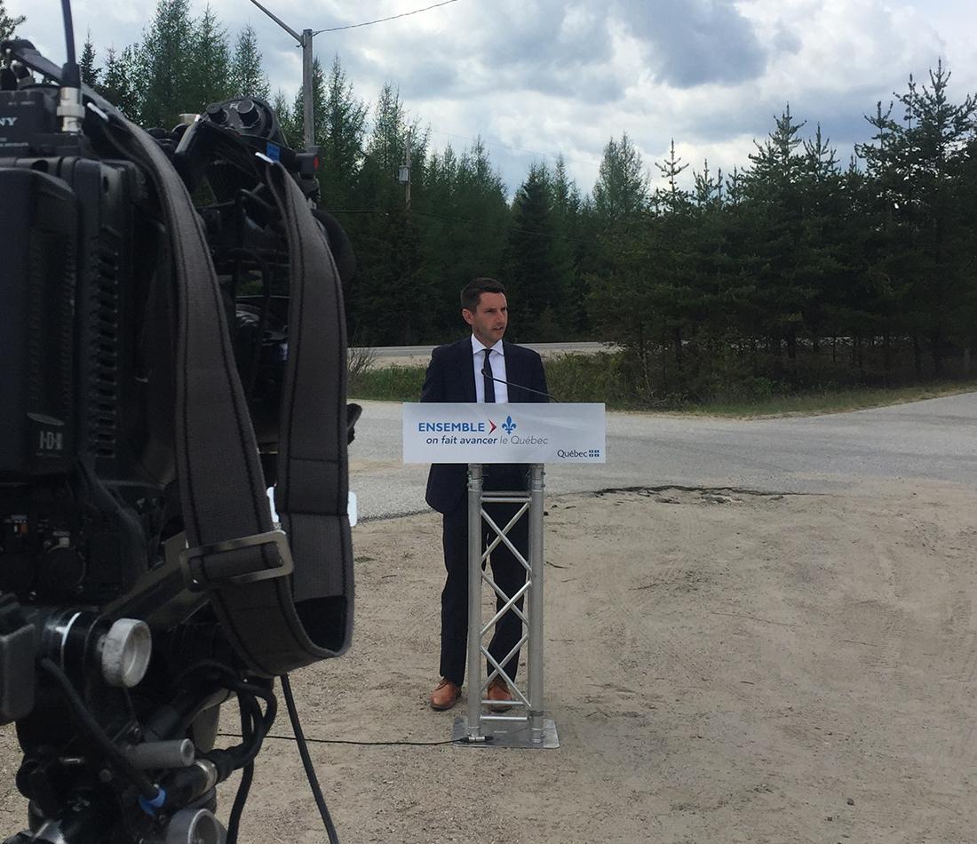 Réaménagement à quatre voies de la route 117, entre Labelle et Rivière-Rouge - Le gouvernement confirme son engagement