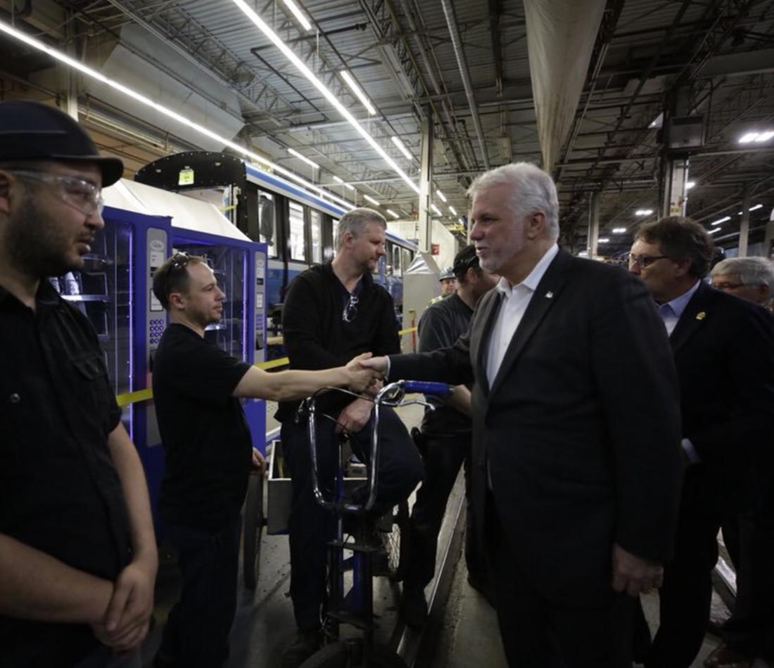 Adoption du projet de loi visant à permettre l'acquisition de nouvelles voitures de métro fabriquées à La Pocatière