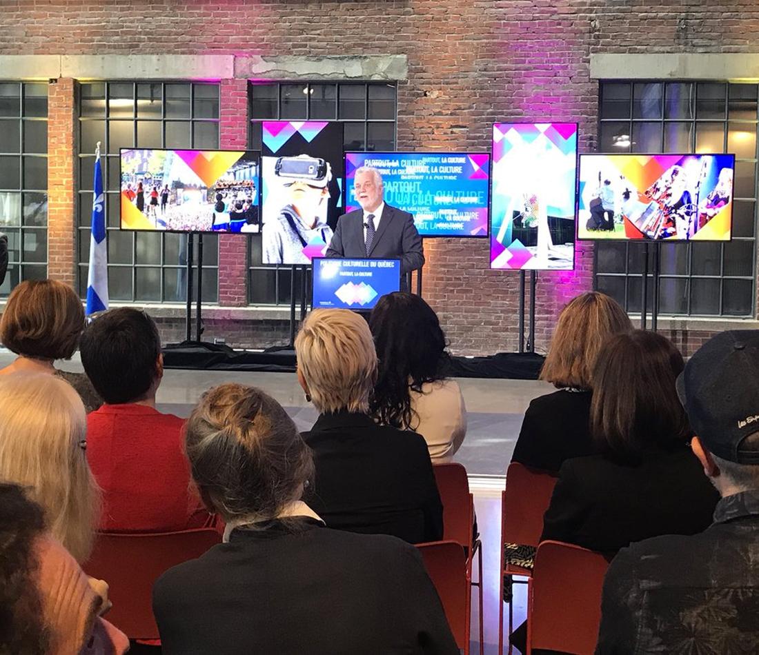 Nouvelle politique culturelle du Québec - Enraciner davantage la culture dans la vie de la population - Mieux soutenir les artistes, les organisations et les entreprises