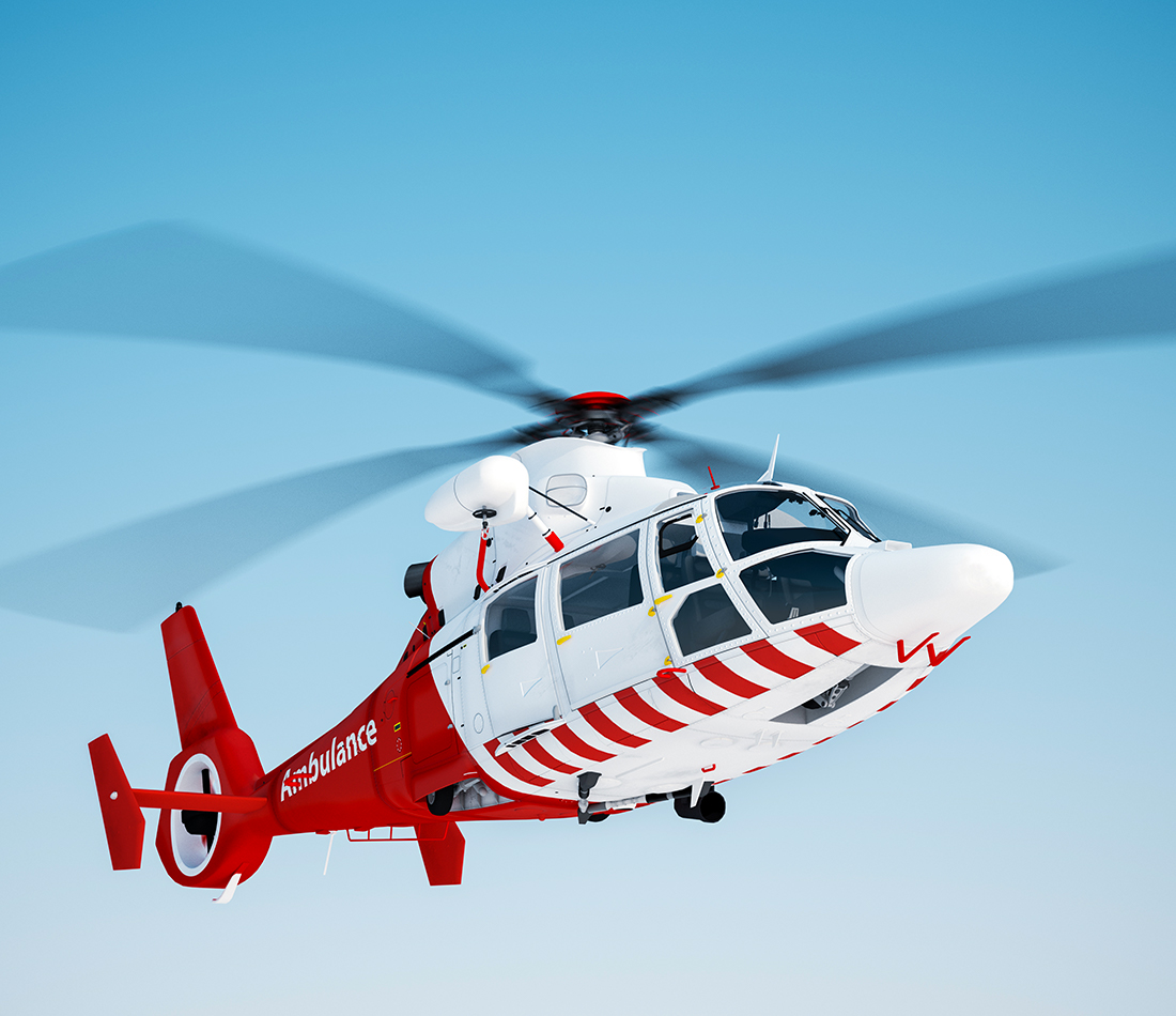 Le ministre Gaétan Barrette annonce la mise en œuvre d'un projet pilote de service de transport héliporté